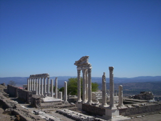 Pergamon an ancient town