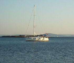 Anchored at Candarli